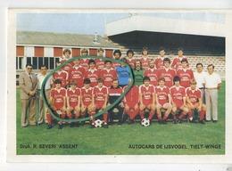F.C. ASSENT  (  Kaggevine - Bekkevoort )  :  Football - Voetbal :  14 X 9.5  (  Zie Scans ) - Vieux Papiers