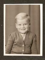 PHOTO ORIGINALE - PHOTO IDENTITE PETIT GARCON - IDENTITY PHOTO LITTLE BOY - Personnes Anonymes