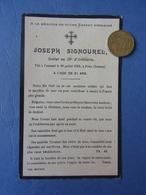 WW1 / FAIRE-PART DECES POILU MPF / 56° RA / 56° REGIMENT ARTILLERIE / MONTPELLIER / ORIGINAL - 1914-18