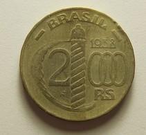 Brazil 2000 Reis 1938 - Brésil