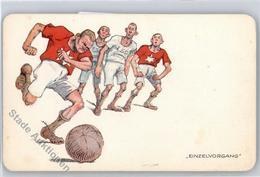 51223327 - Fussball Humor - Football