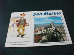 SAN MARINO TUGNIN MACCHIETTA CARATTERISTICA DI CONTADINU SAMMARINESE  PIN UP SU MUCCA - Pin-Ups
