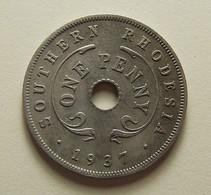 Southern Rhodesia 1 Penny 1937 - Rhodésie