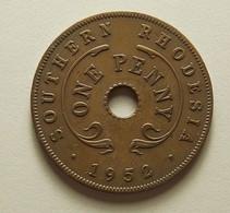 Southern Rhodesia 1 Penny 1952 - Rhodésie