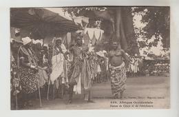 CPSM AFRIQUE OCCIDENTALE FRANCAISE (Mauritanie-Sénégal-Mali-Guinée-Cte D'Ivoire....)ETHNOGRAPHIE-Danses Chefs Féticheurs - Mali