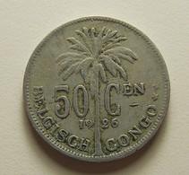 Belgian Congo 50 Centimes 1926 - 1910-1934: Albert I.
