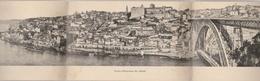 PORTO--PANORAMA DA CITADE--CARTE DEPLIANTE--41 CM--VOIR SCANNER - Porto