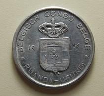 Belgian Congo 5 Francs 1956 - 1951-1960: Baudouin I