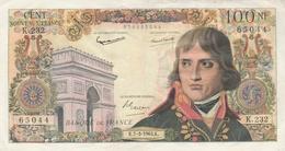 BILLET 100 FRANCS BONAPARTE--TTB--VOIR SCANNER - 1959-1966 Nouveaux Francs