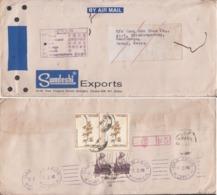 Korea  1992  Undelivered  Daejon  Destination  Retour  Cover  From India  AS PER SCAN  # 17557   D  Inde Indien - Korea, South