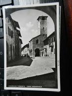 19837) CUNEO CARAMAGNA PIEMONTE TORRE MEDIOEVALE VIAGGIATA 1940 CIRCA - Cuneo