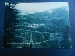19895) CUNEO SANTUARIO S. ANNA IN VINADIO PANORAMA NON VIAGGIATA 1950 CIRCA - Cuneo
