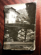 16946) ALESSANDRIA GRONDONA PANORAMA VIAGGIATA 1953 BOLLO ASPORTATO - Alessandria
