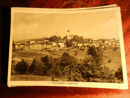16951) ALESSANDRIA S. CRISTOFORO PANORAMA VIAGGIATA 1955 NON COMUNE - Alessandria