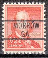 USA Precancel Vorausentwertung Preo, Locals Georgia, Morrow 819 - Vereinigte Staaten