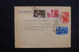 U.R.S.S. - Enveloppe De Leningrad Pour Berlin En 1949 , Affranchissement Varié Plaisant - L 25467 - Covers & Documents