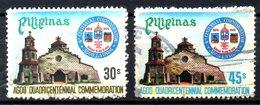 PHILIPPINES. N°1093-4 Oblitérés De 1978. Ville D'Agoo. - Philippines