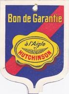 """¤¤  -  Dépliant Publicitaire De La Marque """" AIGLE - HUTCHINSON """" Bon De Garantie   -  Voir Description  -   ¤¤ - Publicité"""