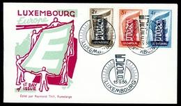 Luxemburg MiNr. 555-57 Ersttagsbriefe/ FDC Cept (K1989 - Luxembourg