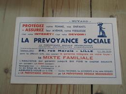 Buvard LA PREVOYANCE SOCIALE - Banque & Assurance
