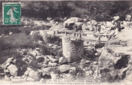 06 - Alpes Maritimes - BELVEDERE - Vallée De La Gordolasque - Le Pont De Cognas - Chasseur Et Pecheur - Belvédère