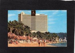 84903    Messico,  Playa  Condesa  Y Hotel Condesa Del Mar,  Acapulco,  VG  1981 - Mexique