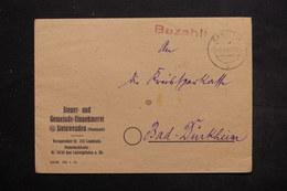 ALLEMAGNE - Enveloppe En Franchise De Ramstein Pour Bad Dürfheim En 1945 - L 25469 - Zone AAS