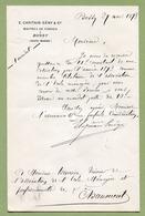 "BUSSY  (1893) : "" MAÎTRES DE FORGE - E. CAPITAIN-GENY & Cie ""  Haute-Marne - France"