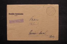ALLEMAGNE - Enveloppe En Franchise De Glan - Münchweiler En 1945 - L 25470 - Zone AAS