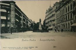 Baden - Baden // Leopoldsplatz 1900 - Baden-Baden