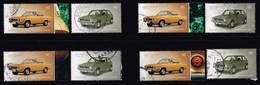 Bund 2017, Michel# 3297 - 3298 O Opel Manta Und VW Golf - BRD