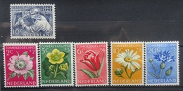NEDERLAND  1952   Nr. 582 /  583 - 587   Scharnier *     CW  22,00 /  NVPH 2017 - 1949-1980 (Juliana)