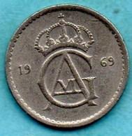 SUEDE / SWEDEN 50 ORE  1969 - Suède