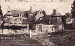 Chatillon En Vendelais (35) - Manoir Des Roussières Côté Sud. - France