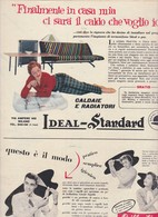 (pagine-pages)PUBBLICITA' IDEAL-STANDARD  Epoca1957/353. - Livres, BD, Revues