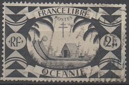 OCEANIE  1942__N° 163__ OBL VOIR SCAN - Océanie (Établissement De L') (1892-1958)