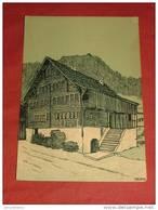 WASSEN  - Maison à Wassen D'après Th. Barth - La Suisse Croquis D'Artistes - 1908 - - UR Uri
