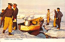 Arctic Alaska - Eskimo And Their Oomiak - Etats-Unis