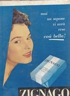 (pagine-pages)PUBBLICITA' ZIGNAGO  Epoca1957/353. - Livres, BD, Revues