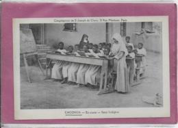 CACONDA  - En Classe - Soeur Indigène - Angola