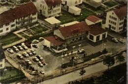 Schwenningen Am N. // Shell Service Station - Motel Edwin Mamier (luftbild) 19?? - Andere
