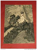 "GLARIS - La Chapelle De St Michel D'après V. Baumgartner - "" La Suisse Croquis D'artistes ""  -  1908 - - GL Glaris"