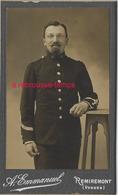 CDV Soldat Du 15e R-photo Emmanuel à Remiremont (Vosges) - Krieg, Militär