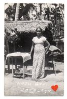 34388-ZE-SRI-LANKA-KAJU-GIRL--BATALIYA------------carte Photo-----------animée - Sri Lanka (Ceylon)