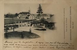 Carspach (68) Kneipp'she Heilanstalt // Das Dorf 1905 - Elsass