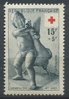 France 1955 - N° 1049 - Au Profit De La Croix Rouge - L'Enfant à L'Oie - Neuf - ** - France
