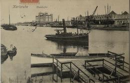 Karlsruhe // Rheinhafen - Schiff 1906 - Karlsruhe