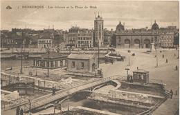 DUNKERQUE - Les écluses Et La Place Du Minck - Dunkerque
