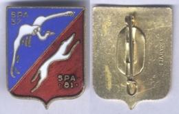 Insigne De L'Escadron De Chasse 01-004 Dauphinée - Armée De L'air