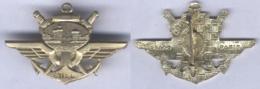 Insigne De La Base De Transit Interarmée - Sigle BTIA.Ma - Armée De Terre